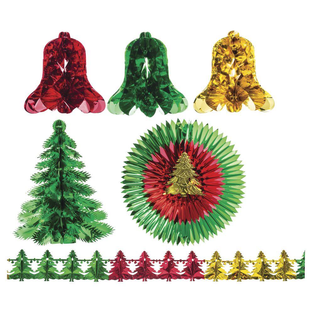 2000 sq ft christmas metallic decoration kit