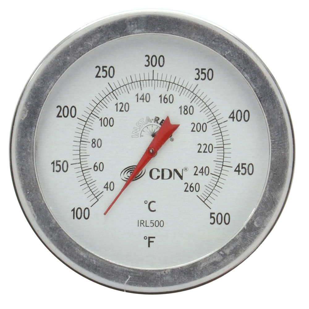 """THERMOMETER, INSTA-READ, FRYER, LONG, 12"""""""