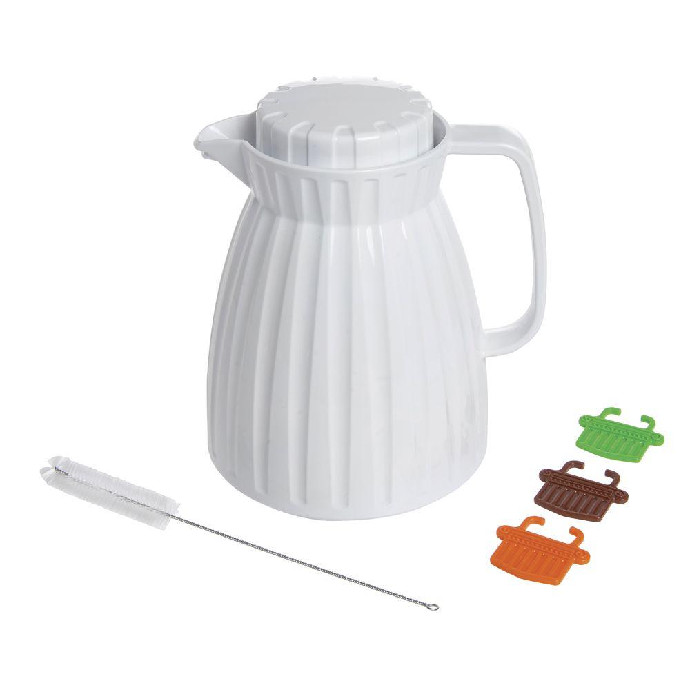SERVER, PLASTIC, WHITE, 0.6L