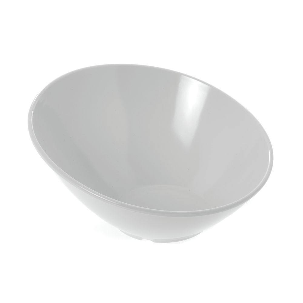 """G.E.T. Melamine Bowl Cascading Round in White 16 oz  8""""D  x  3 1/4""""H"""