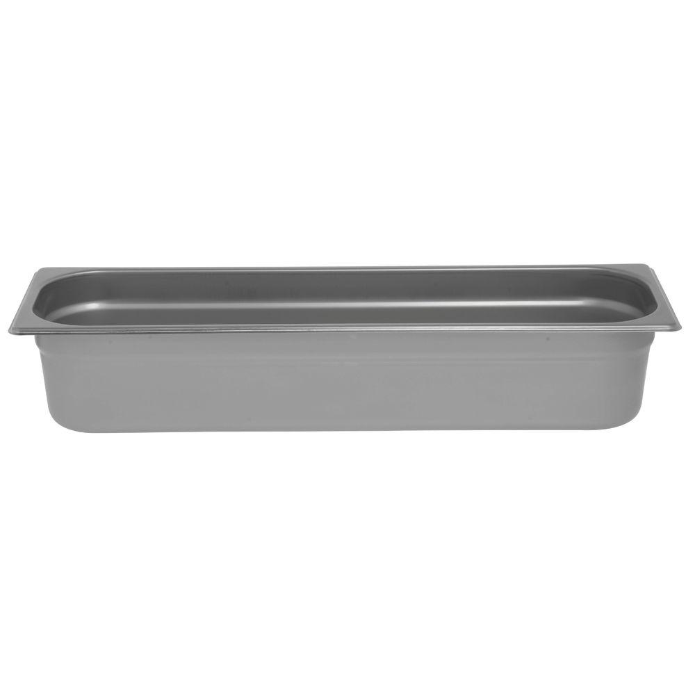 """Hubert Stainless Steel Steam Pan 1/2 Size Long 4""""D"""