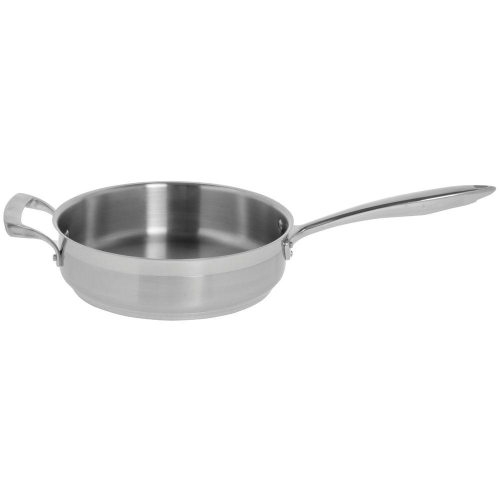 PAN, SAUTE, W HANDLES, STRAIGHT-SIDED, 3 QT