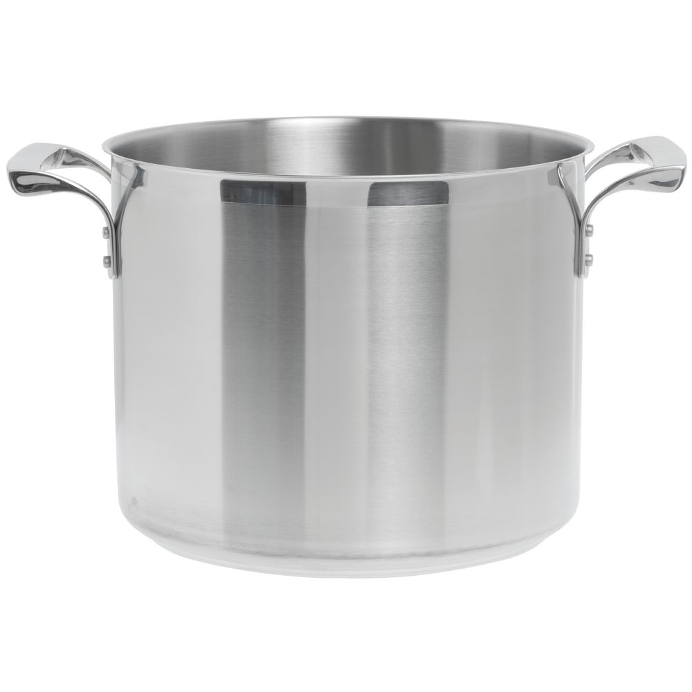 Browne Thermalloy 20 Qt Stainless Steel Stock Pot 13 12dia X 11