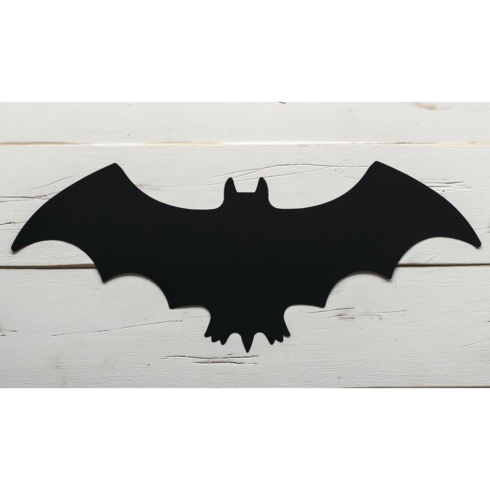 Hester And Cook Disposable Die Cut Black Bat Paper Placemat 21 L X 8 1 2 W