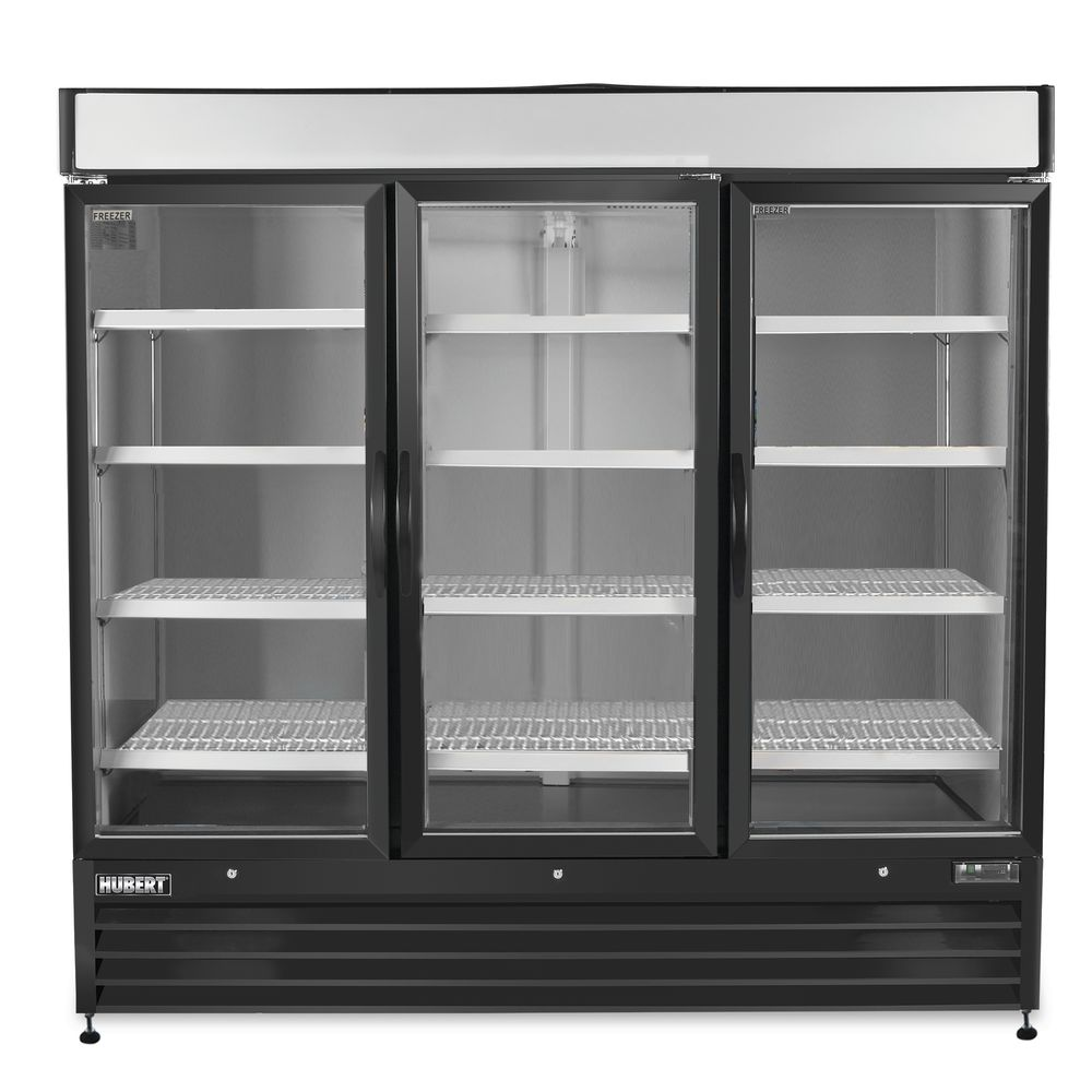 Hubert 72 Cu Ft 3 Door Merchandiser Freezer 81l X 31 1516w X 79
