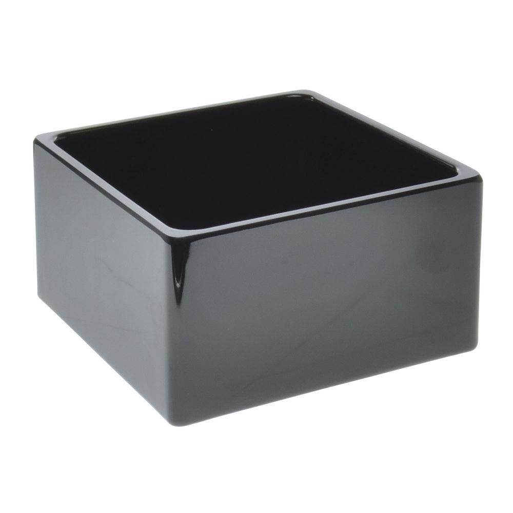 PAN, MELAMINE, MODULAR, SQ, 6X6, BLACK