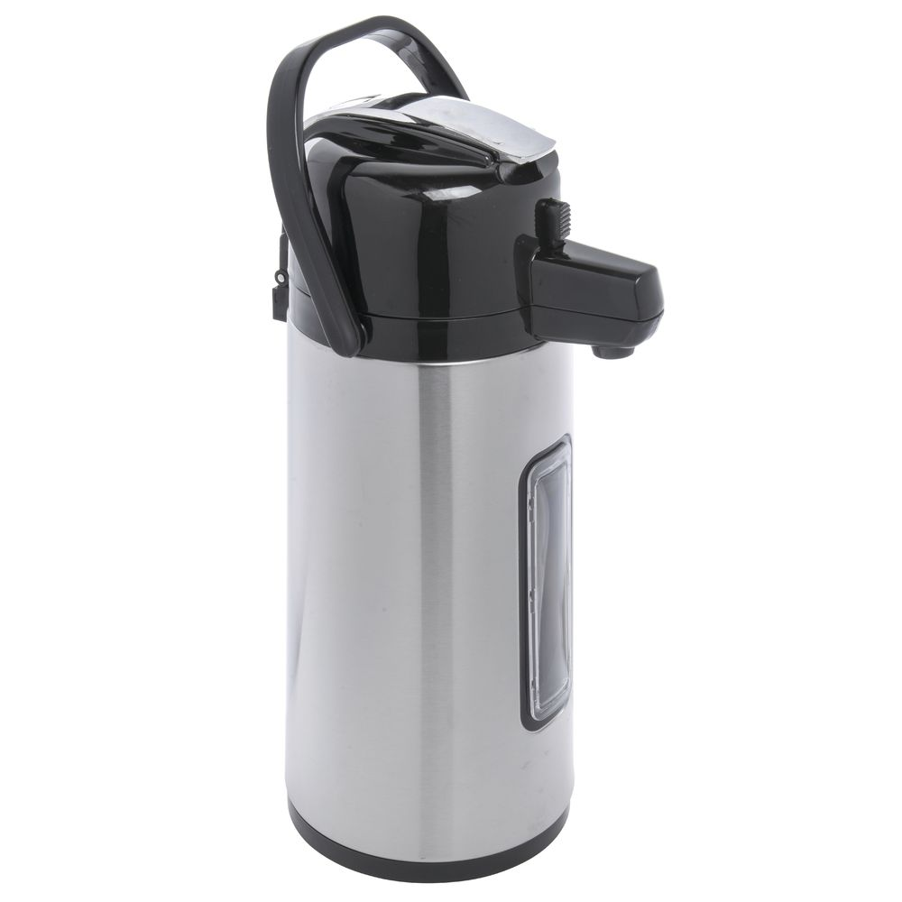 AIRPOT, S/S, 2.2 LITER, W/LEVER LID