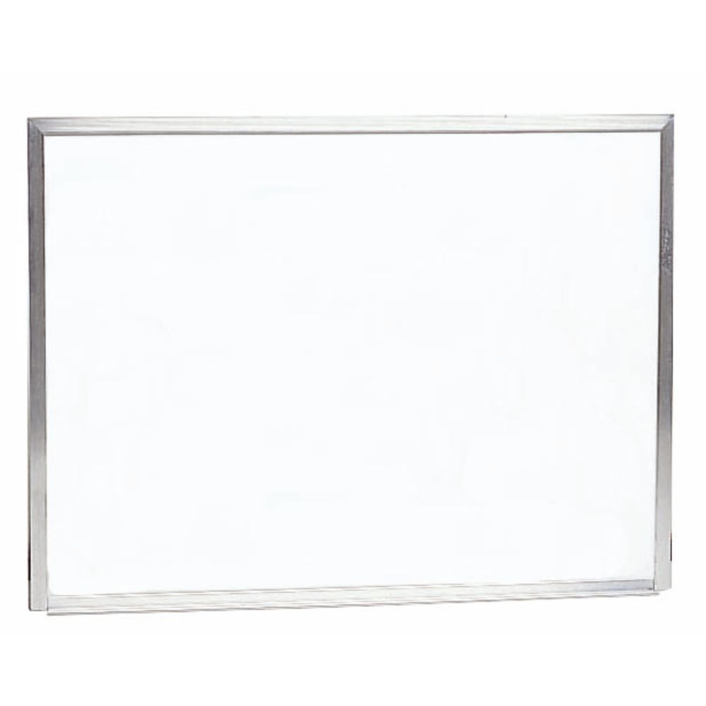 f464d3bc46d Aarco Aluminum Frame White Dry Erase Board Wall Mount - 24