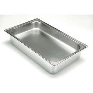 """PAN, WATER PAN, FULL SIZE, 4 3/8""""D, 22 GAUGE"""