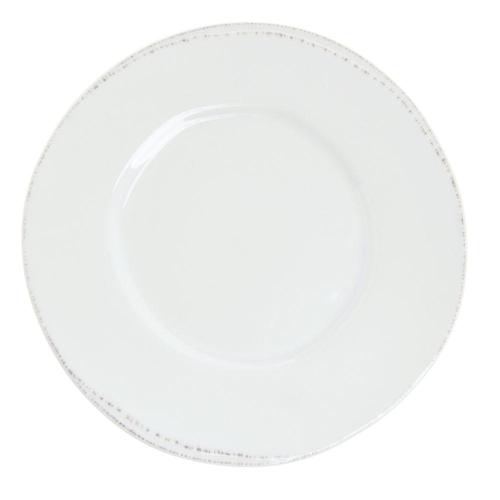 """World® Farmhouse Porcelain Luncheon Plate 9""""Dia 12/Cs"""
