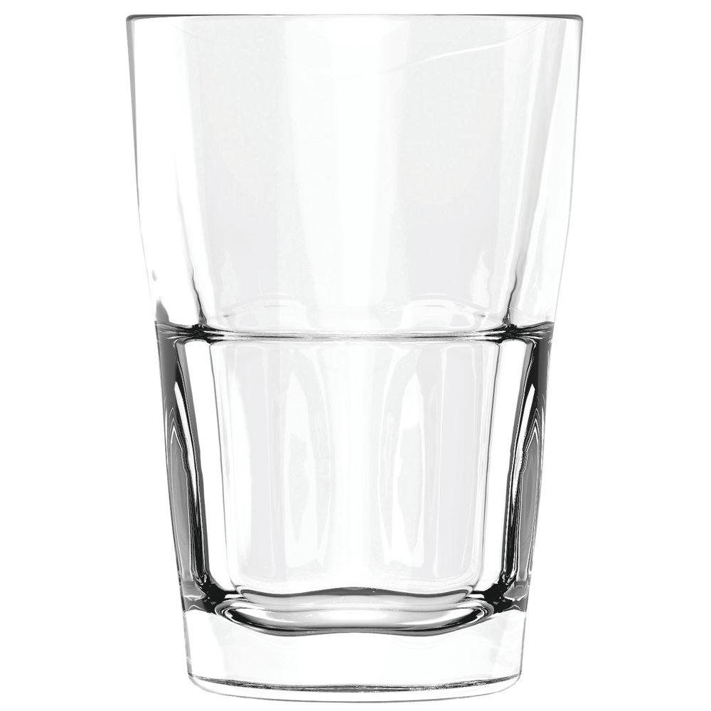 HIBALL, GLASS, TRIBOROUGH, 12OZ, CS/36