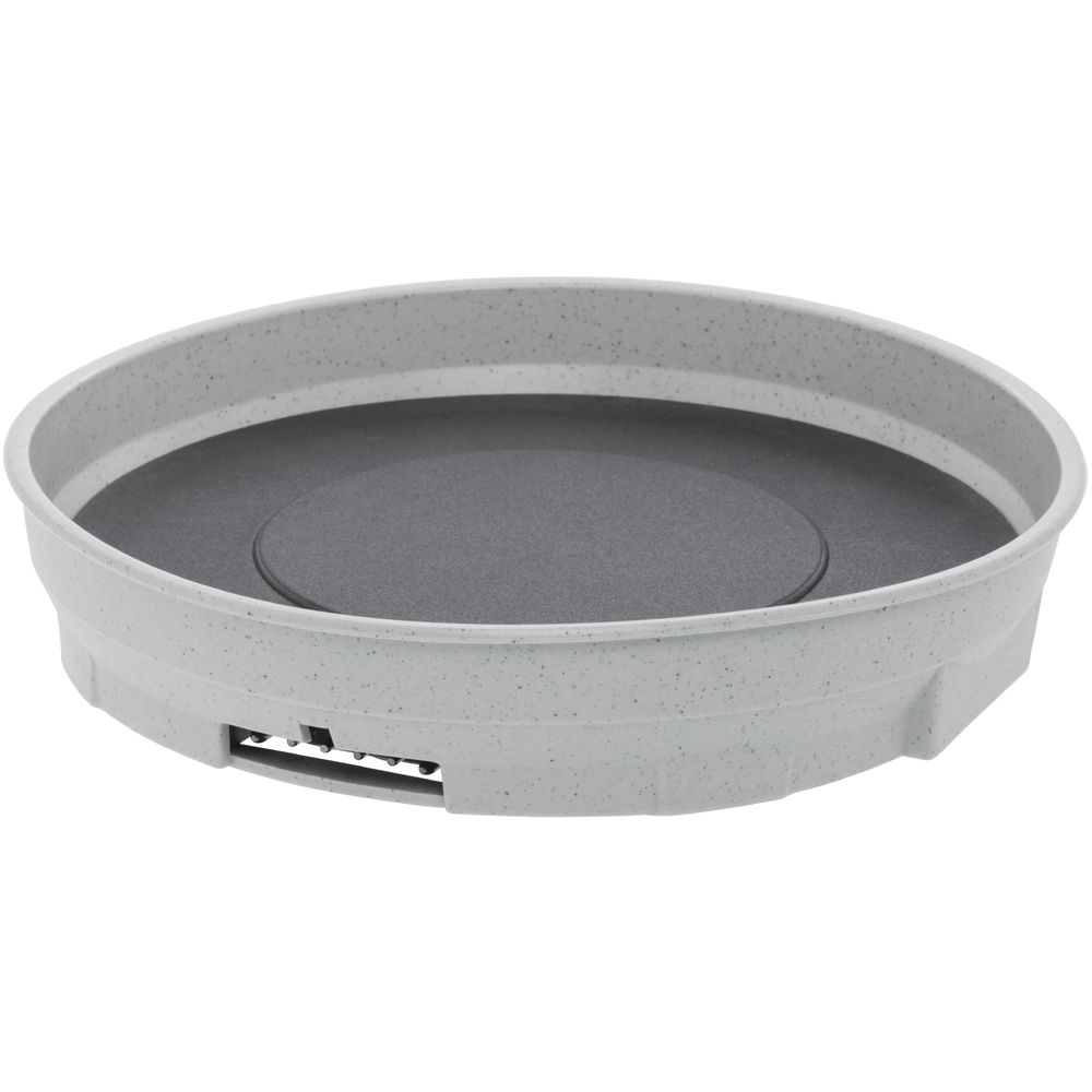 BASE, HEATED UNIT FOR CHARGER, GREY