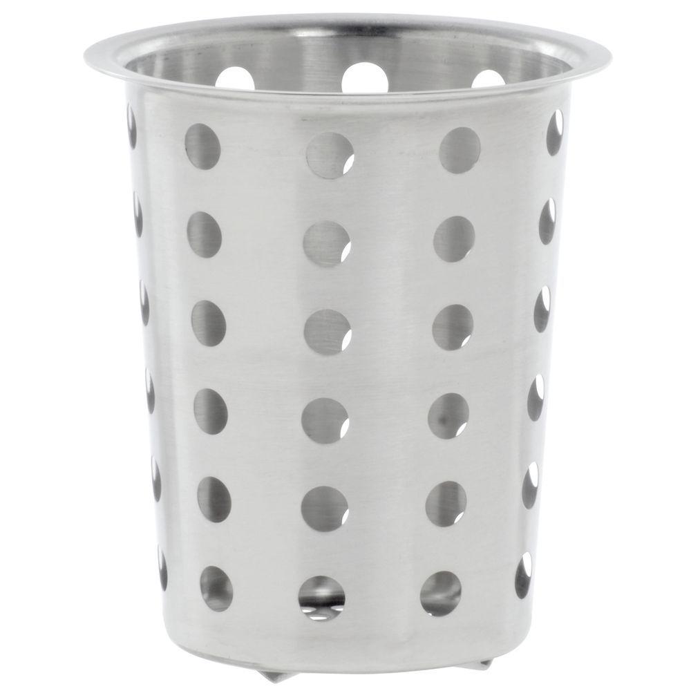 Stainless Steel Silverware Cylinder