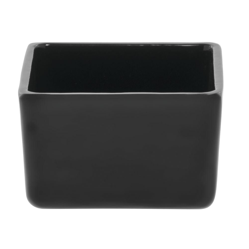 "Tablecraft® Black Bowl Aluminum 5"" Sq x 3""H"