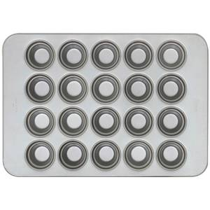 PAN, CROWN MUFFIN 4 ROWS OF 5, 18X26 GLA