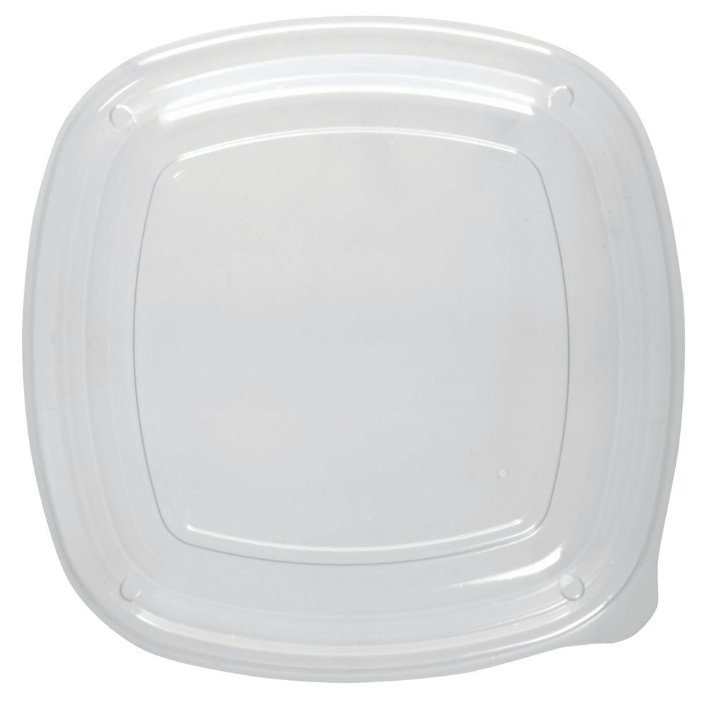 """Dome Food Container Lid for 9"""" Shallow Plate/Bowl Container"""