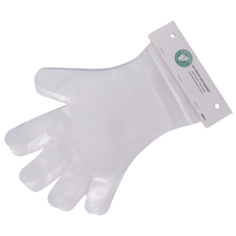 Clear Polyethylene Powder Free Disposable Gloves