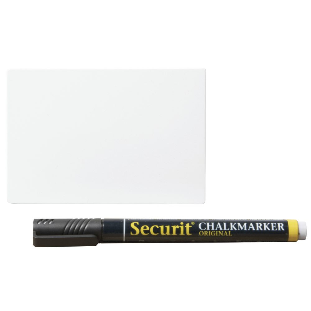 "TAGS, WHITEBOARD, SECURIT, 4.25""X3"", ST/20"