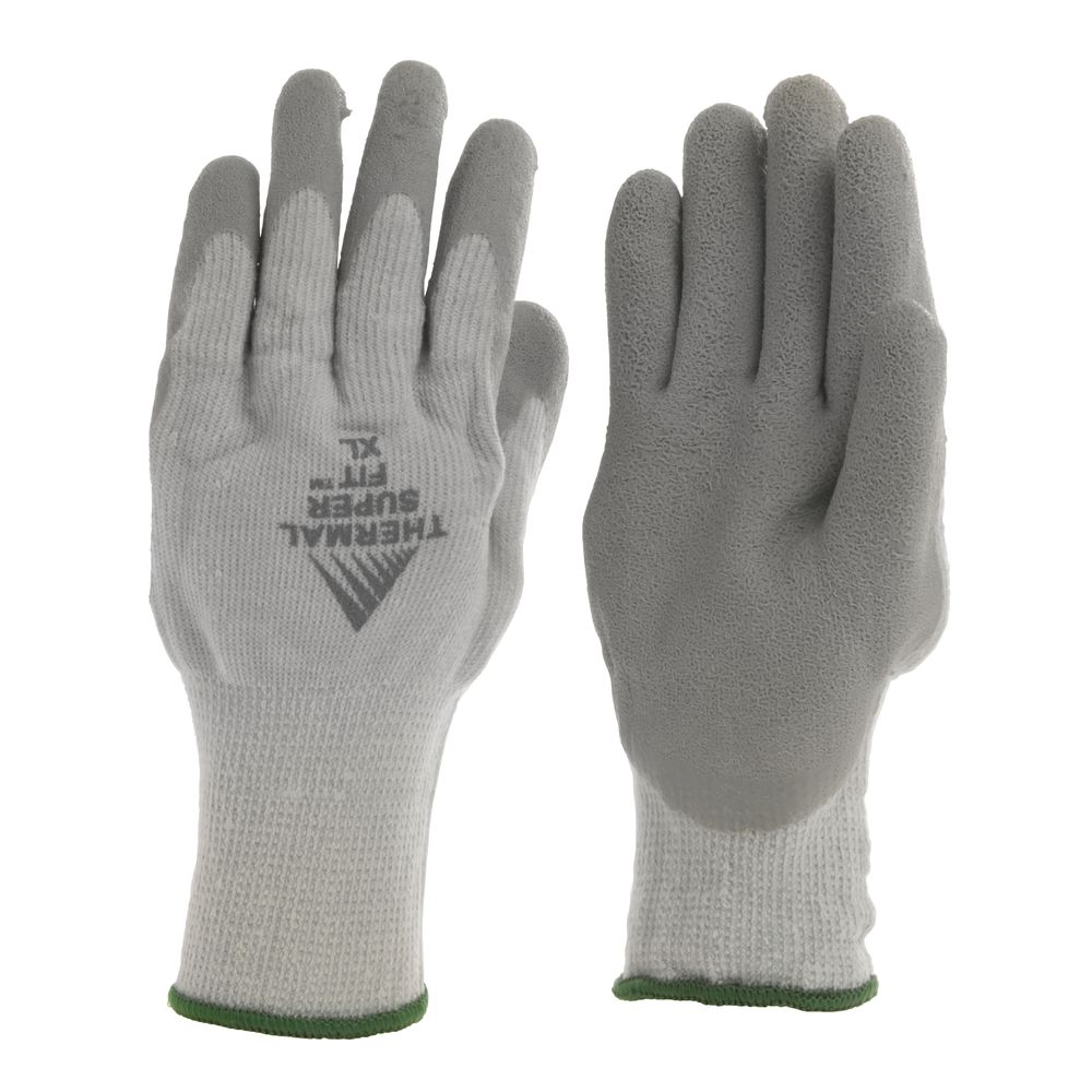 GLOVES, THERMAL SUPER FIT, X-LARGE, PR