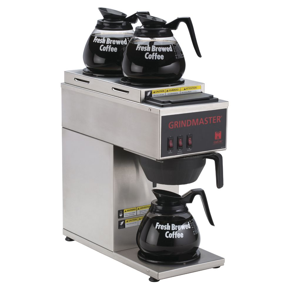 BREWER, COFFER, 3 WARMER, POUROVER