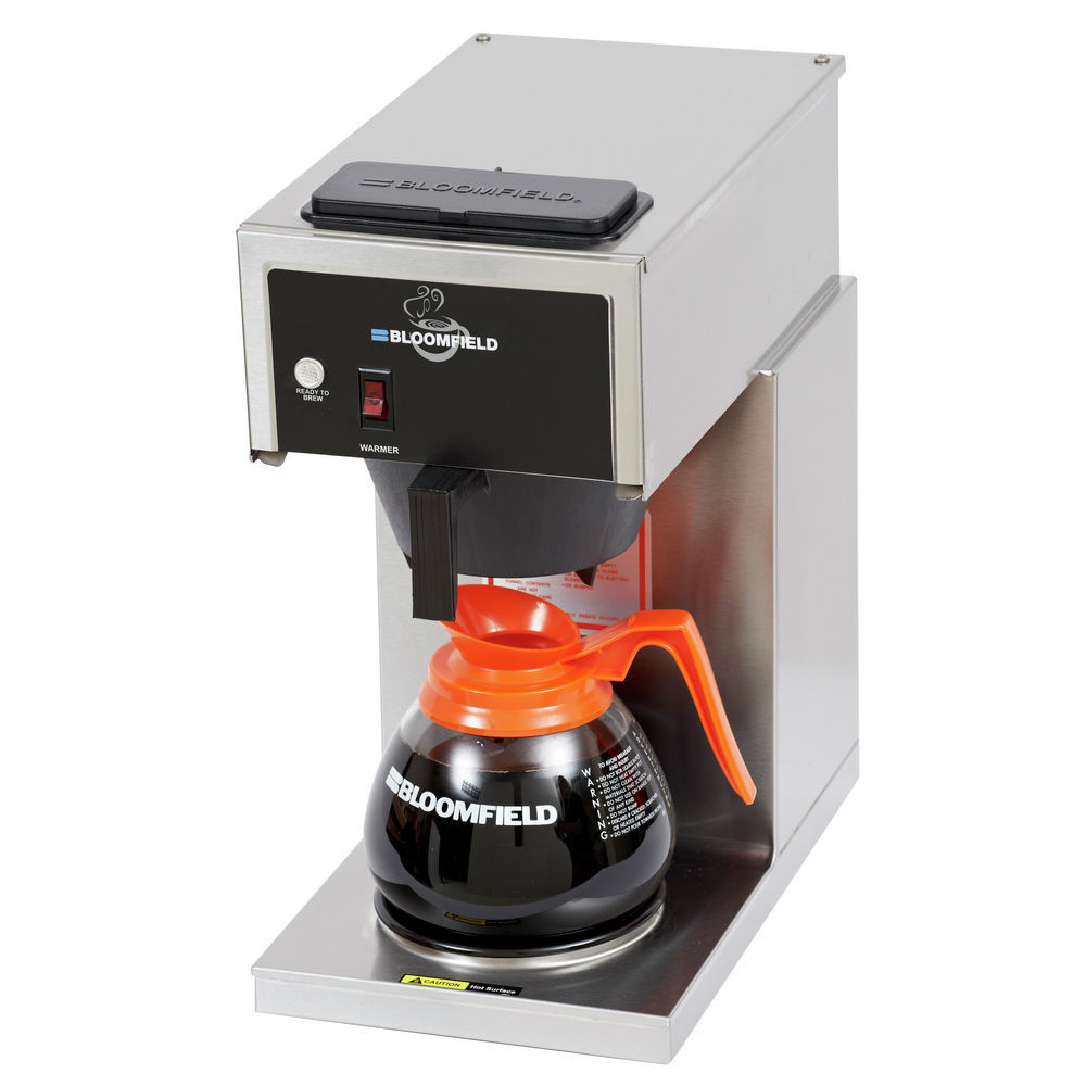 COFFEE BREWER, 1 WARMER, LOW PROFILE-US