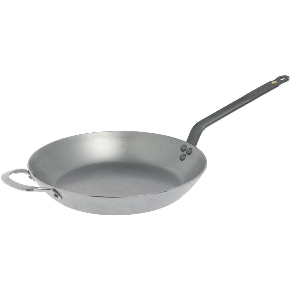 "HUBERT® Mini Fry Pan Stainless Steel 4 1//2/""L x 1 3//8/""W x 1 3//16/""H"