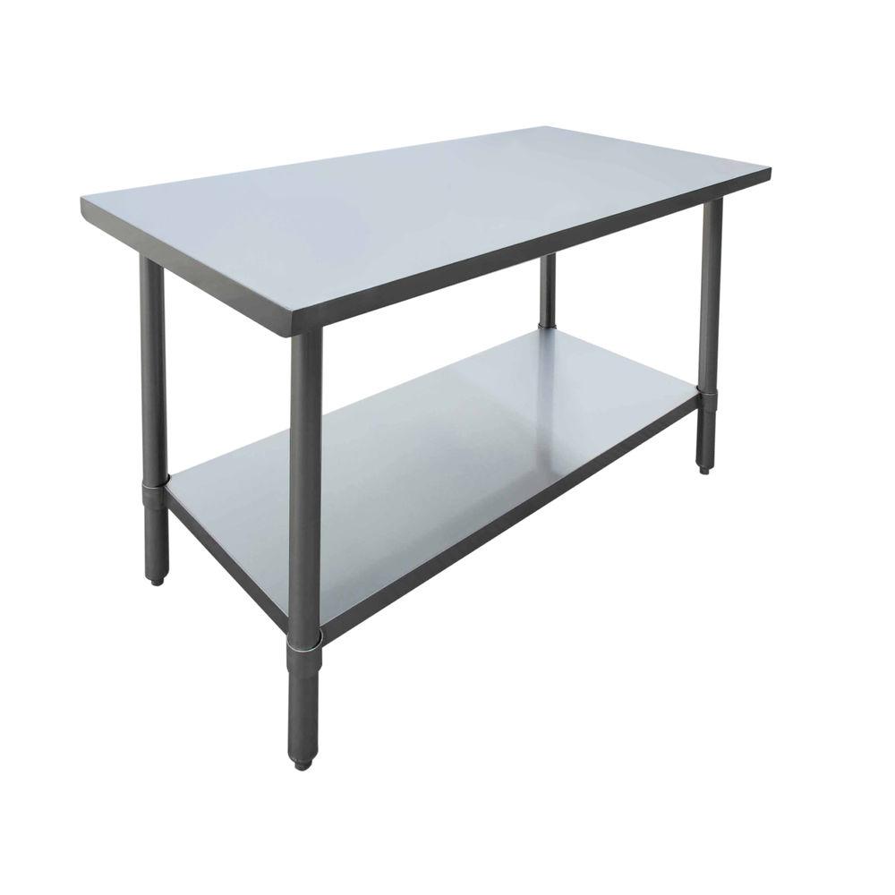 TABLE, S/S, 48X24X34