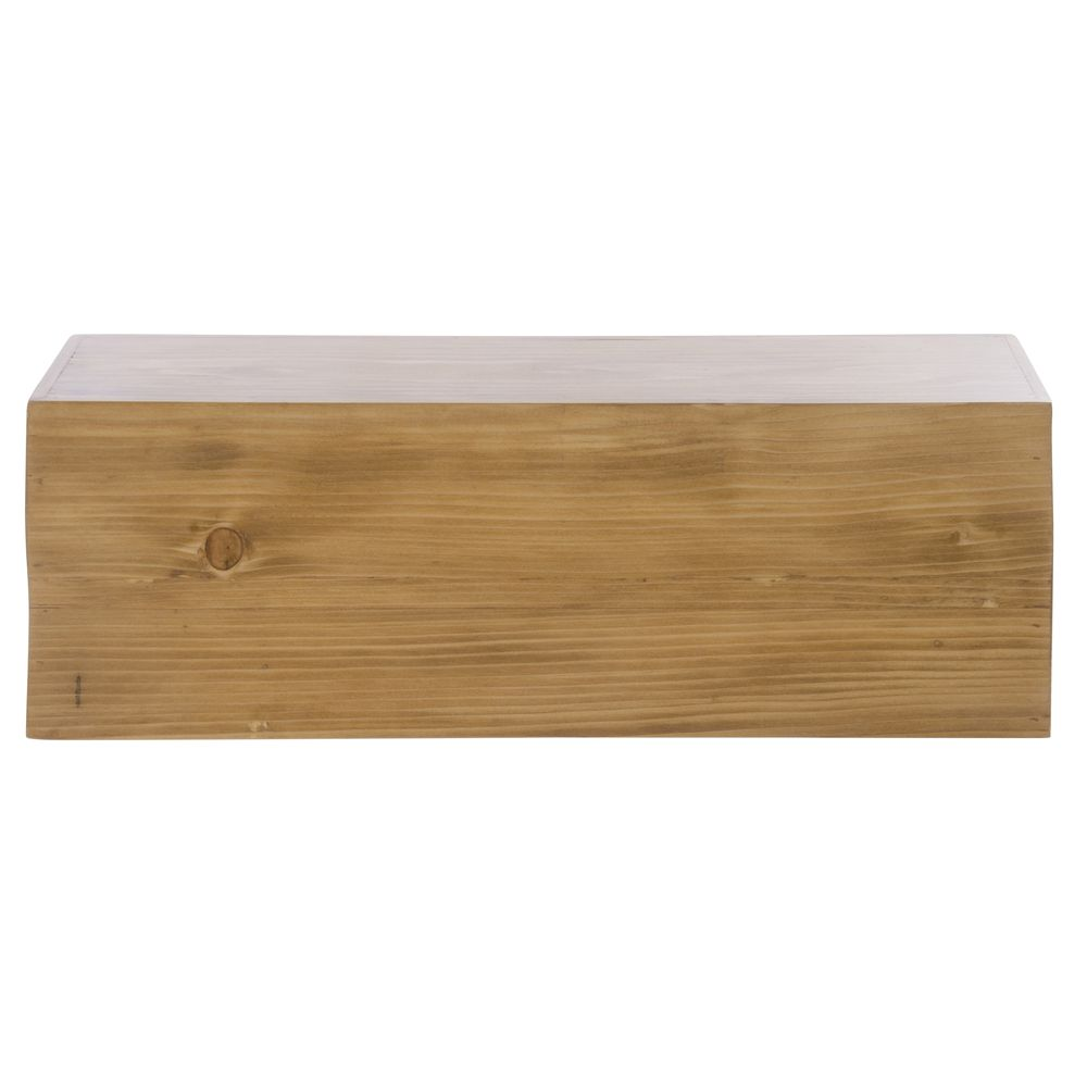 "Cal Mil Rectangular Riser Madera Collection 20""L x 7""W x 7""H Wood"