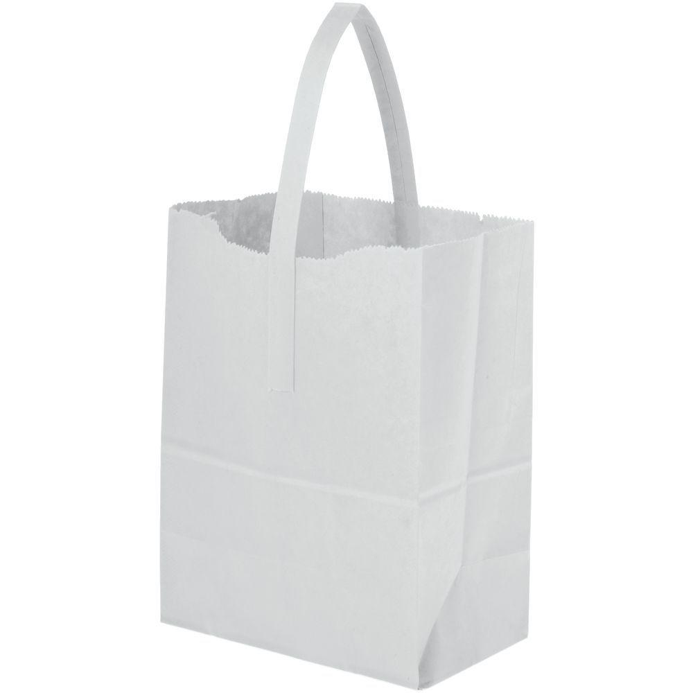 BAG, TOTER, PREP, 6-3/4X4-3/4X8-1/2, WHITE