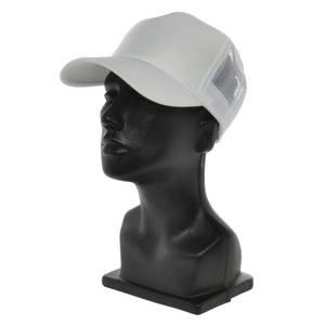 CO MESH BACK BASEBALL CAP, WHITE