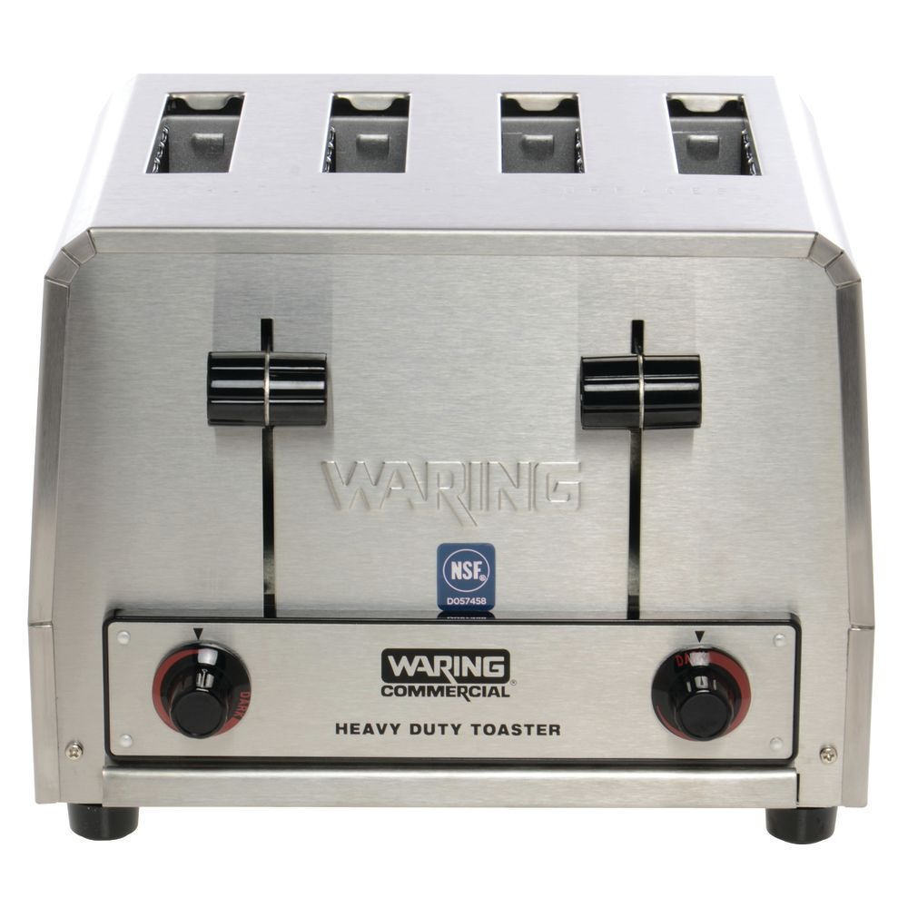 itm slice works waring duty toaster good commercial heavy