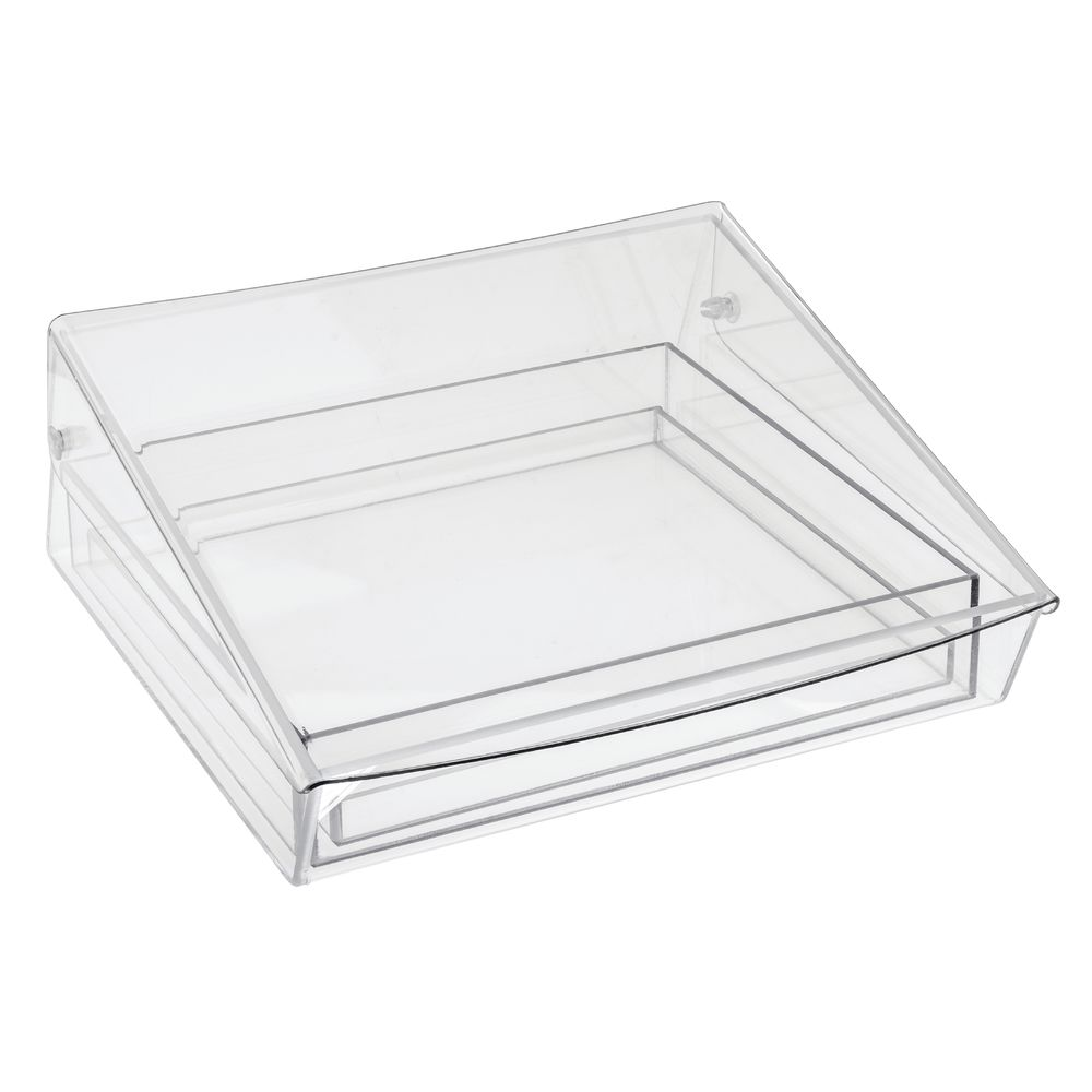 SAMPLER, SQUARE, W/ICE TRAY, CLEAR