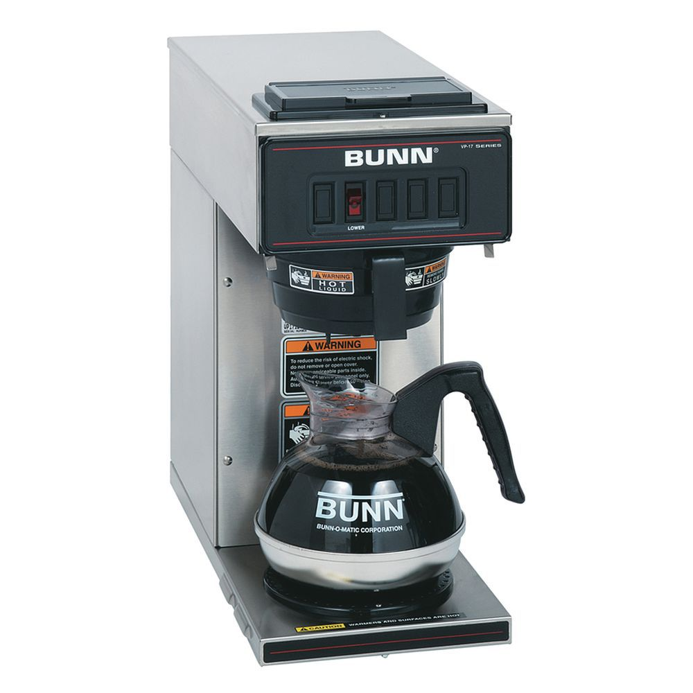 Bunn Pourover Coffee Brewer With 1 Lower Warmer Canada Only 8