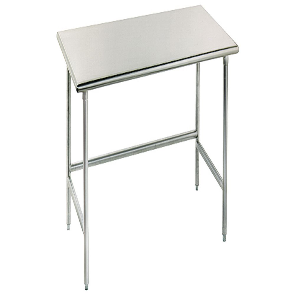 Advance Tabco Stainless Steel Work Table With Open Base L X - Stainless steel open base work table