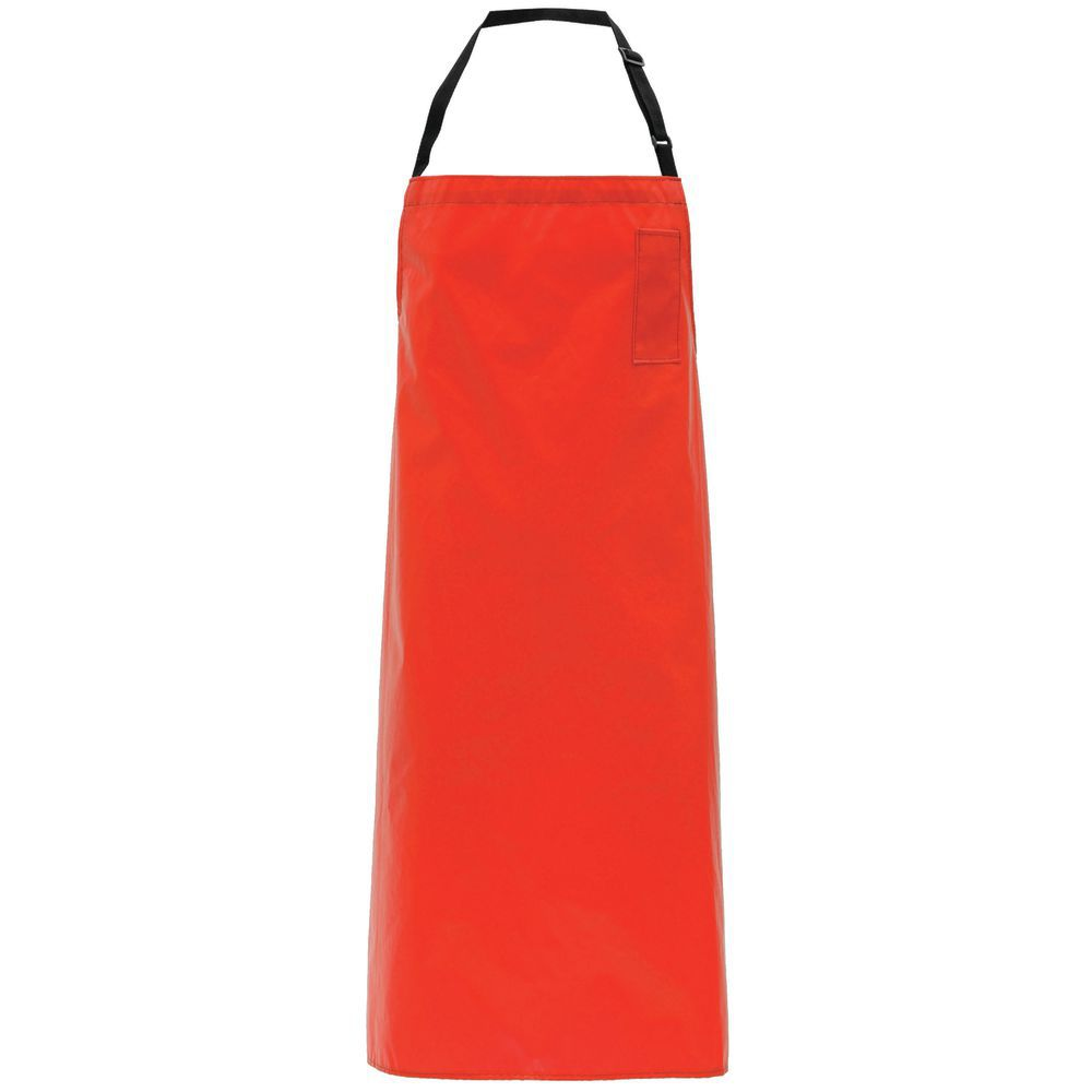 APRON, SUPPORTED VINYL, W/PKT, RED