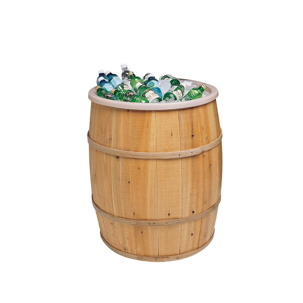 Barrel Drink Cooler with Polystyrene Liner