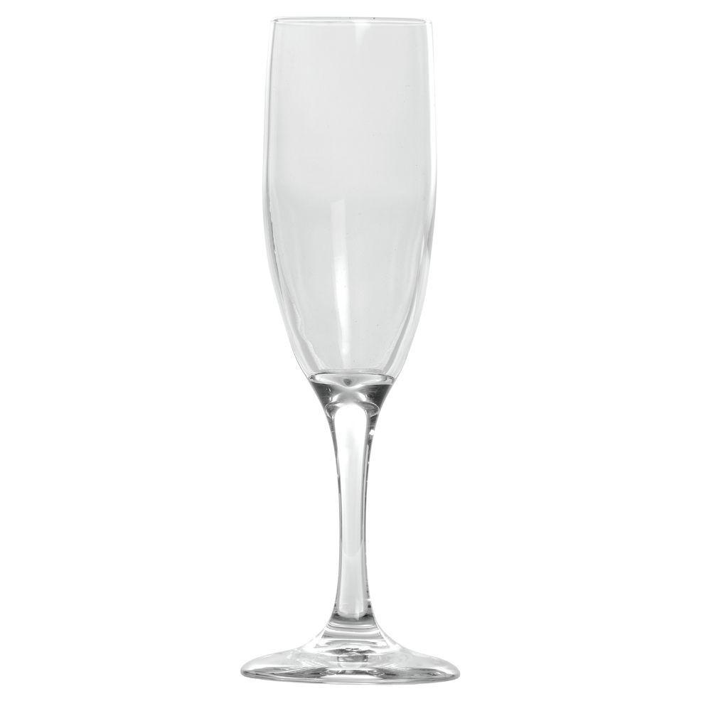 GLASS, EMBASSY FLUTE 6 OZ.