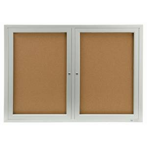 CRKBOARD, OUTDOOR, ENCLOSED, 42X32, HORIZ