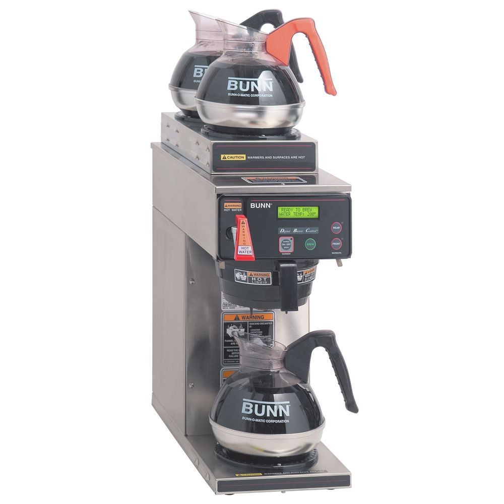 Bunn Axiom 12 Cup Automatic Coffee Brewer With 3 Warmers