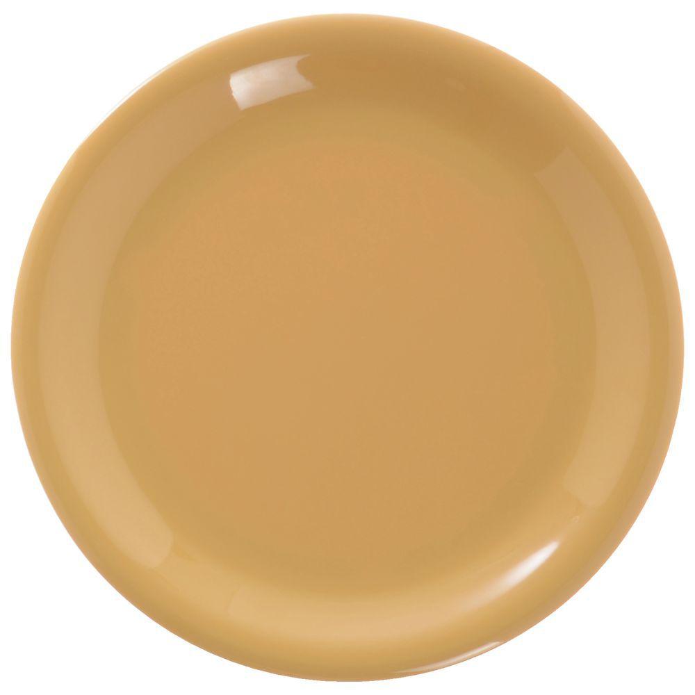 PLATE LUNCHEON SIERRUS 9\ DIA HONEY YELLO  sc 1 st  Hubert.com & Carlisle Sierrus™ Honey Yellow Melamine Luncheon Plate - 9Dia