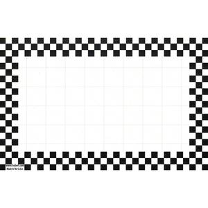 CARDS, CHKBD, 3-1/2 X 5-1/2, BLACK