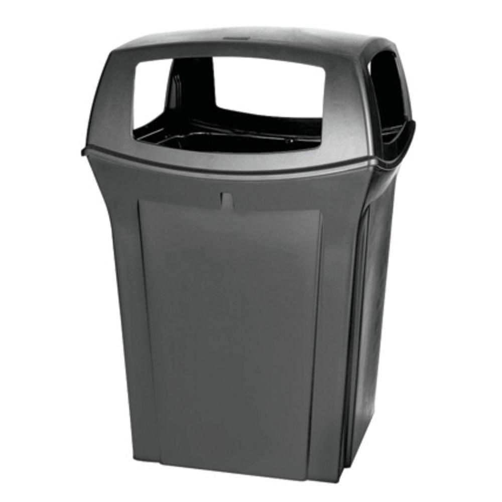 Bi Outdoor Wicker 18 5 Gallon Trash Bin By Pacific Home On Opensky