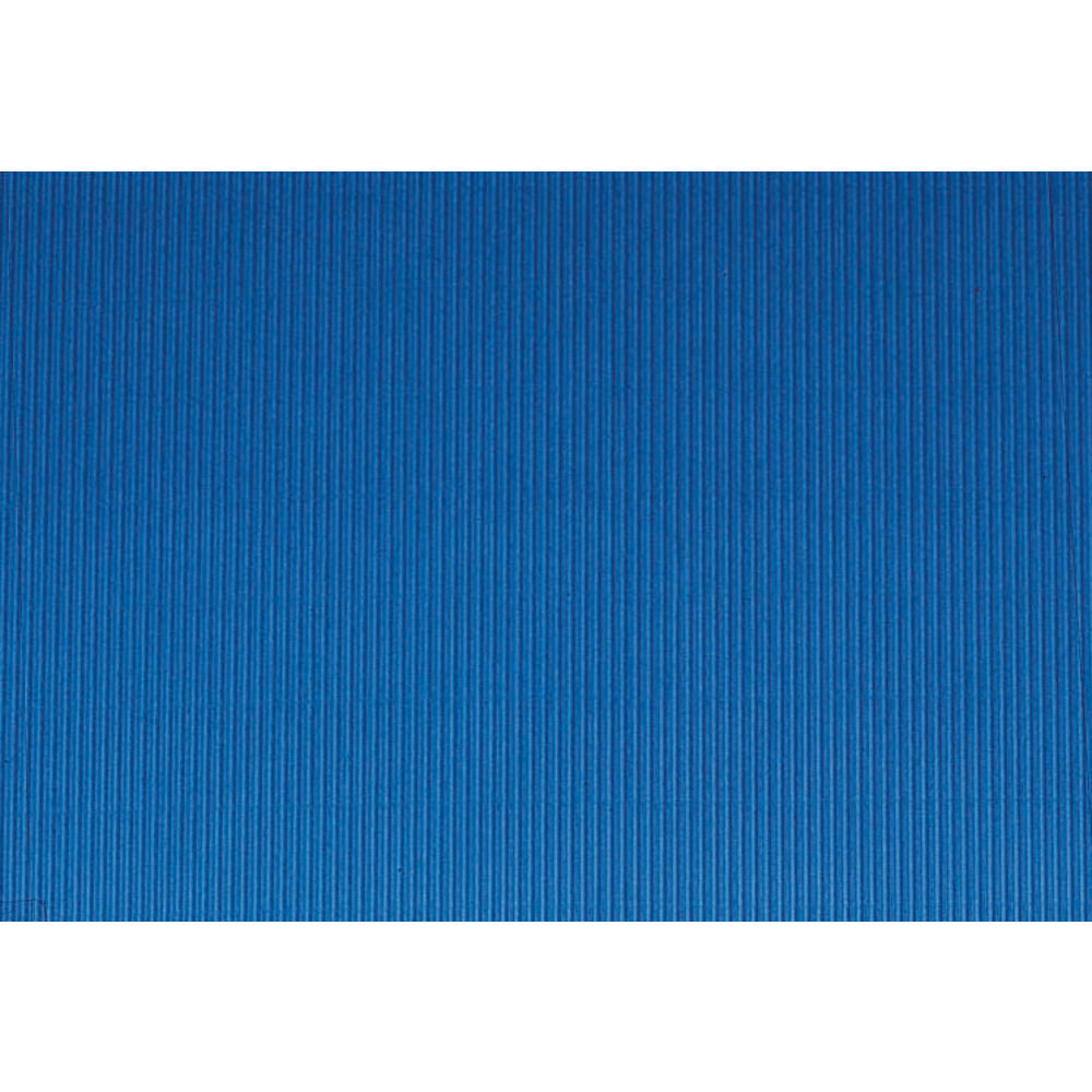 "Corobuff Awning Rich Blue 25'L x 24""W Corrugated Paper"