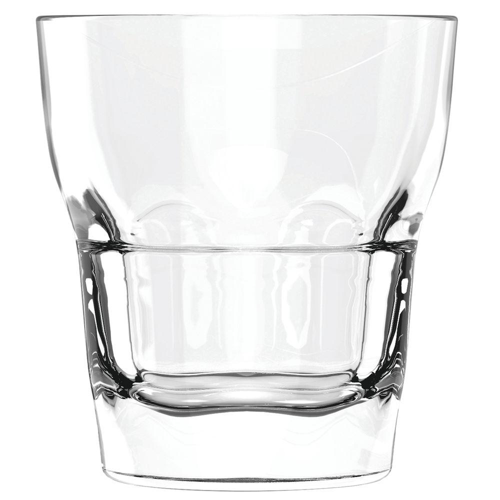 TUMBLER, GLASS, TRIBOROUGH, DOF, 14OZ, CS/36