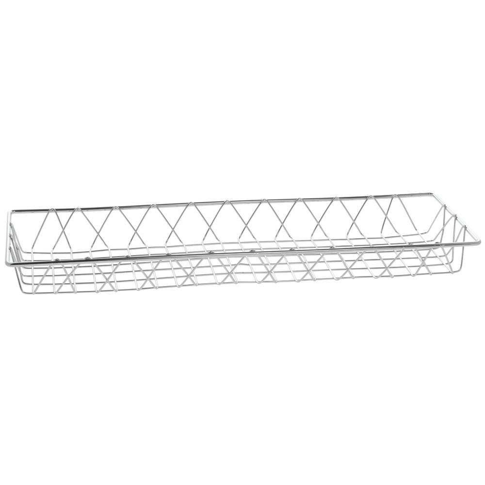 Chrome Large Wire Basket Features Attractive Design