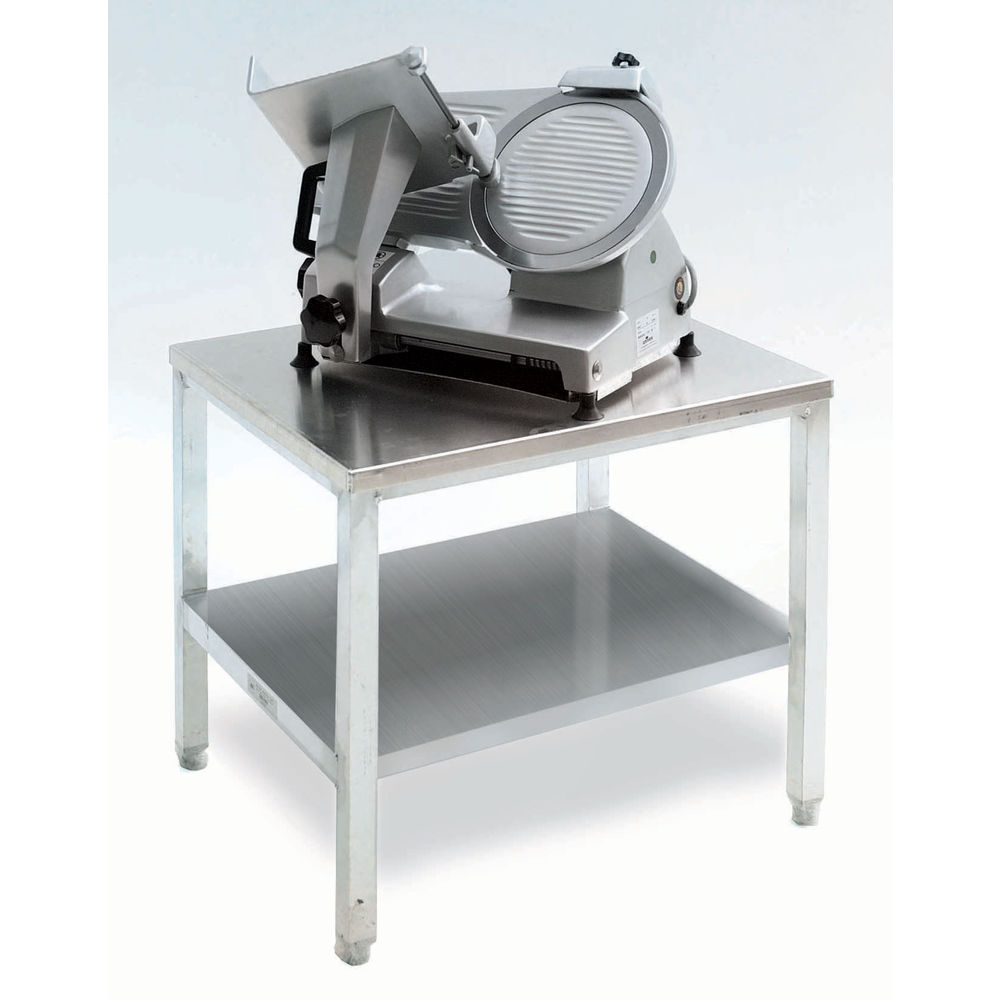 New Age Stainless Steel / Aluminum Equipment Stand With Shelf And Casters -  24