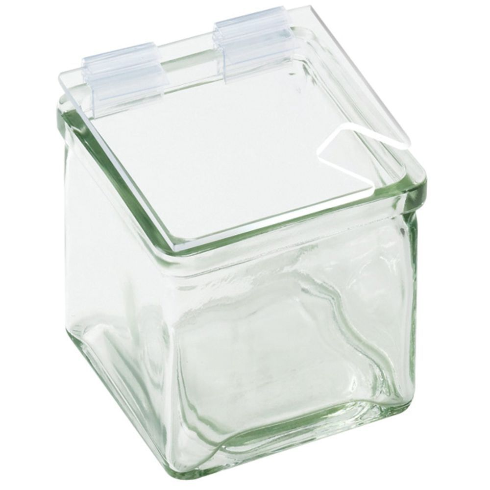 LID, NOTCHED, PLASTIC HINGE, FOR 4X4 GL JAR