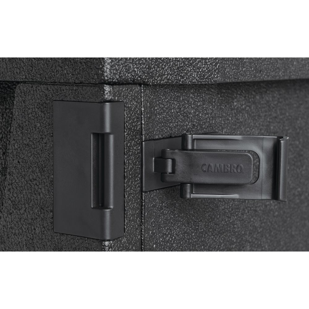 Cambro Cam GoBox<sup>®</sup> Black Plastic Front Loading Pan Carrier