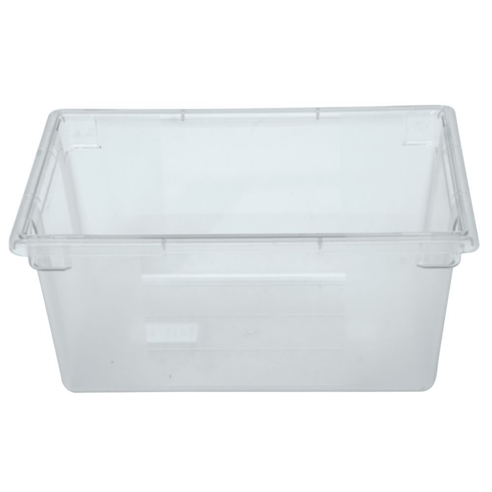 Clear Plastic Storage Container for Cold or Hot Foods