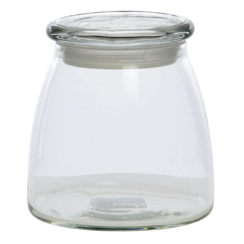 Libbey 27 oz Clear Glass Display Jar with Lid
